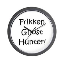 Frikken Ghost Hunter! Wall Clock