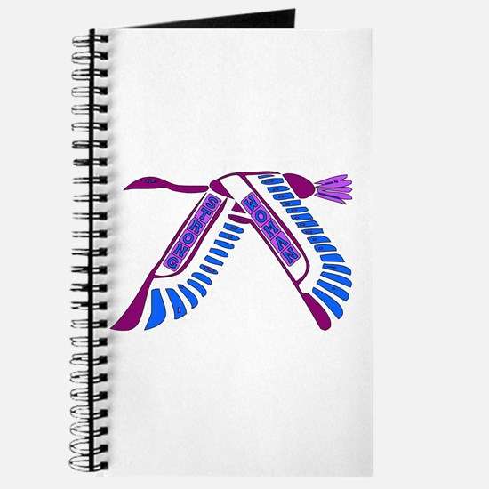 Strong Woman Flying Journal