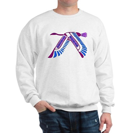 Strong Woman Flying Sweatshirt
