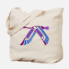 Strong Woman Flying Tote Bag