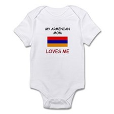 My Armenian Mom Loves Me Infant Bodysuit