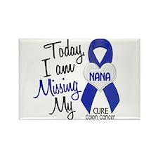 Missing My Nana 1 CC Rectangle Magnet