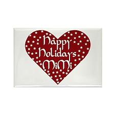 Happy Holidays Mimi! Rectangle Magnet