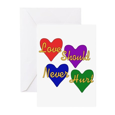 End Domestic Violence Greeting Cards (Pk of 20)