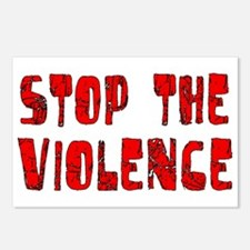 Stop The Violence Postcards (Package of 8)