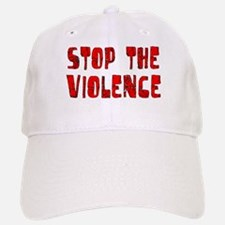 Stop The Violence Baseball Baseball Cap