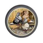 Domestic Flights Wall Clock