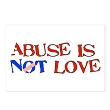 Abuse Is Not Love Postcards (Package of 8)