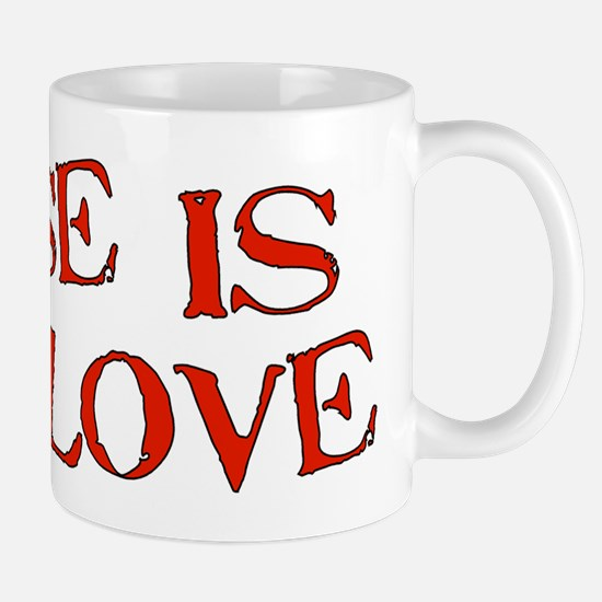 Abuse Is Not Love Mug