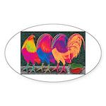 Cantina Gamecocks Sticker (Oval)