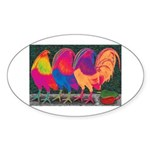 Cantina Gamecocks Sticker (Oval 10 pk)