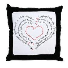 Breastfeeding: The Greatest Gift Throw Pillow