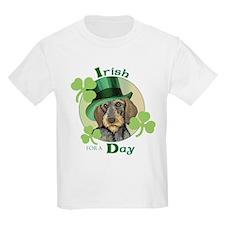 St. Pat Wirehaired Dachshund T-Shirt