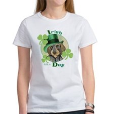 St. Pat Wirehaired Dachshund Tee