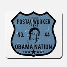 Postal Worker Obama Nation Mousepad