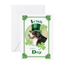St. Patrick Berner Greeting Card