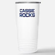 cassie rocks Travel Mug