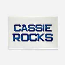 cassie rocks Rectangle Magnet