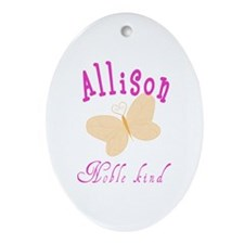 Allison Oval Ornament