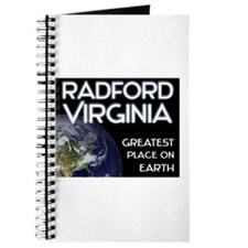 radford virginia - greatest place on earth Journal