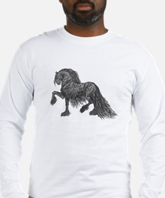 """Friesian Style"" Long Sleeve T-Shirt"