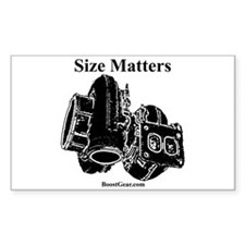 Size Matters - Turbo Rectangle Decal