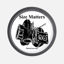 Size Matters - Turbocharger Wall Clock - BoostGear