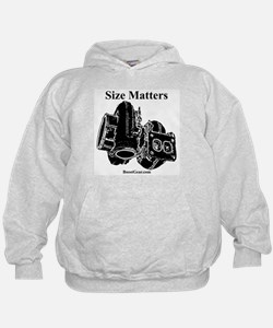 Size Matters - Turbo Hoodie by BoostGear.com