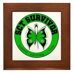 SCT Survivor Framed Tile