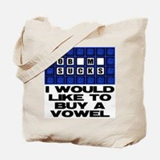 I would like to buy a vowel Tote Bag