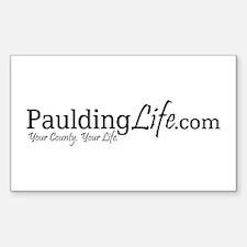 PauldingLife Rectangle Decal