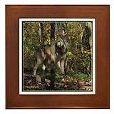 Wolf tile Framed Tiles