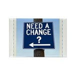 Change Rectangle Magnet (100 pack)