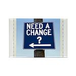 Change Rectangle Magnet (10 pack)