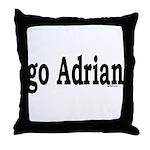 go Adrian Throw Pillow
