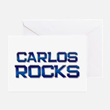 carlos rocks Greeting Card