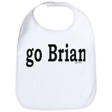 go Brian Bib