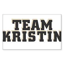 Team Kristin Rectangle Decal