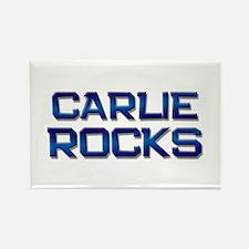 carlie rocks Rectangle Magnet