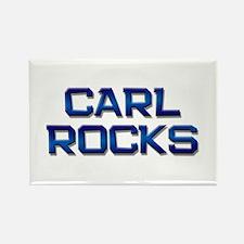 carl rocks Rectangle Magnet