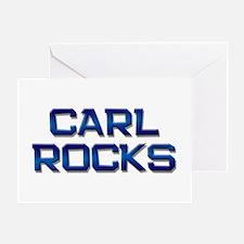 carl rocks Greeting Card