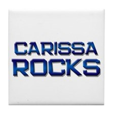 carissa rocks Tile Coaster