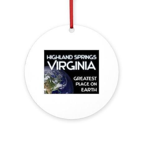 highland springs virginia - greatest place on eart