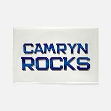 camryn rocks Rectangle Magnet