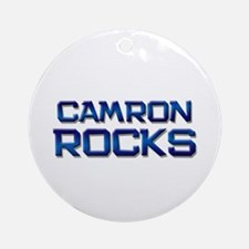 camron rocks Ornament (Round)