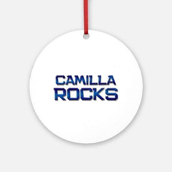 camilla rocks Ornament (Round)