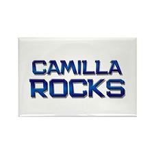 camilla rocks Rectangle Magnet