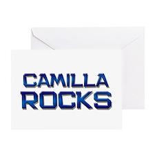 camilla rocks Greeting Card