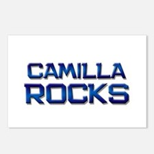 camilla rocks Postcards (Package of 8)