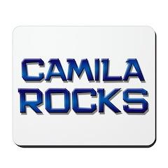 camila rocks Mousepad